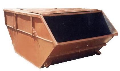 Открытый бункер для КГМ